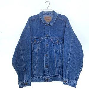 Vintage Levi's Red Tab Denim Trucker Jacket